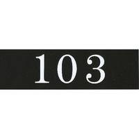 アクリルマットブラックプレート ACMBA-003 2㎜厚 粘着テープ付 30㎜×100㎜ 103