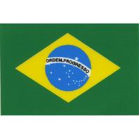 スコッチカル国旗シール ブラジル Sサイズ 16mm×24mm