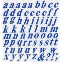 スコッチカルインレタシート 15mmセットパック 書体  タイムズロマンボールドイタリック 小文字 T1809S-47 インテンスブルー