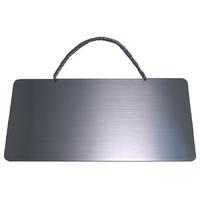 ステンレスサインプレート ST-T005 1㎜厚 チェーン付 150㎜×310㎜ 無地