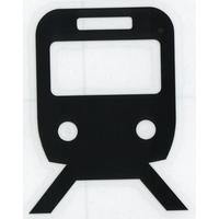 スコッチカルサインシール SC500-041 約90㎜ピクトステッカー 鉄道/鉄道駅