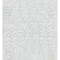 スコッチカルインレタシート 15mmセットパック 書体  ブラッシュスプリクト 大文字 B7200L-001 ホワイト(001裏グレー)