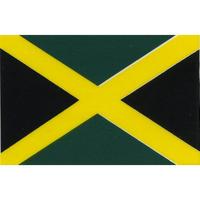 スコッチカル国旗シール ジャマイカ Lサイズ 100mm×150mm