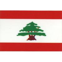 スコッチカル国旗シール レバノン Mサイズ 30mm×45mm