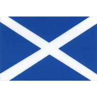 スコッチカル国旗シール(国旗以外) スコットランド Lサイズ 100mm×150mm