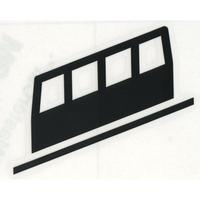 スコッチカルサインシール SC500-049 約90㎜ピクトステッカー ケーブル鉄道
