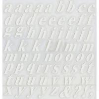 スコッチカルインレタシート 15mmセットパック 書体  タイムズロマンボールドイタリック 小文字 T1809S-27 マットホワイト