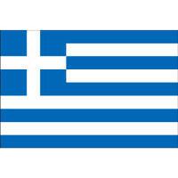 インクジェット国旗シール ギリシャ Lサイズ 約66mm×99mm