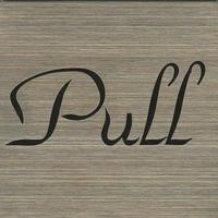 ステンレスサインプレート ST-S002 1㎜厚 粘着テープ付 40㎜角 PULL