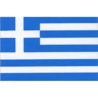 スコッチカル国旗シール ギリシャ Lサイズ 100mm×150mm