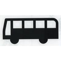 スコッチカルサインシール SC340-044 約40㎜ピクトステッカー バス/バスのりば