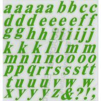 スコッチカルインレタシート 15mmセットパック 書体  タイムズロマンボールドイタリック 小文字 T1809S-196 アップルグリーン