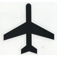 スコッチカルサインシール SC340-040 約40㎜ピクトステッカー 航空機/空港