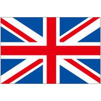 インクジェット国旗シール イギリス Lサイズ 約66mm×99mm