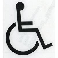 スコッチカルサインシール SC500-009 約90㎜ピクトステッカー 障害がある人が使える設備