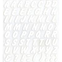スコッチカルインレタシート 15mmセットパック 書体  ブラッシュ 大文字 JC6CL-001 ホワイト(001裏グレー)