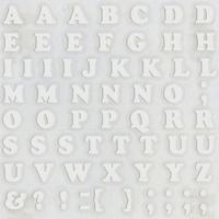 スコッチカルインレタシート 10mmセットパック 書体  クーパー 大文字 10JC6BL-001 (001裏グレー)