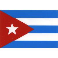 スコッチカル国旗シール キューバ Sサイズ 16mm×24mm