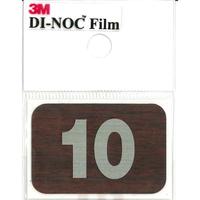 ダイノックサインシール DI-N010S 30㎜×45㎜ 10