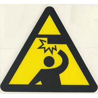 スコッチカルサインシール SC340-112 約40㎜ピクトステッカー 天井に注意