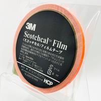 スコッチカルフィルムテープ SC5×5KOR 5㎜×5m  蛍光オレンジ