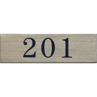 ステンレスサインプレート ST-A005 1㎜厚 粘着テープ付 30㎜×100㎜ 201