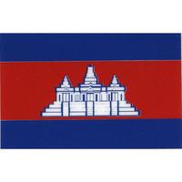 スコッチカル国旗シール カンボジア Mサイズ 30mm×45mm