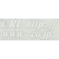 スコッチカルサインシール SC400-036 15㎜タイムズロマンボールドイタリック切り文字タイプ ホワイト