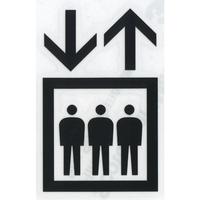 スコッチカルサインシール SC500-028 約90㎜ピクトステッカー エレベーター