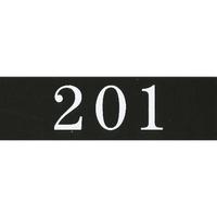 アクリルマットブラックプレート ACMBA-005 2㎜厚 粘着テープ付 30㎜×100㎜ 201