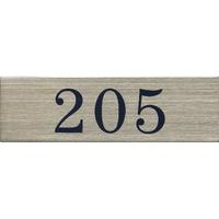 ステンレスサインプレート ST-A008 1㎜厚 粘着テープ付 30㎜×100㎜ 205