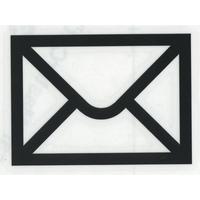 スコッチカルサインシール SC500-024 約90㎜ピクトステッカー 郵便