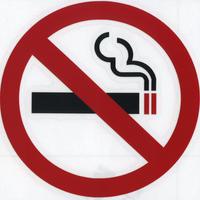 スコッチカルサインシール SC480-KE 直径100㎜マークだけが残るタイプ 禁煙マーク