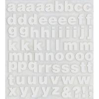 スコッチカルインレタシート 15mmセットパック 書体  ヘルベチカボールド 小文字 H0909S-047 ホワイト(047裏ホワイト)