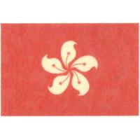 国旗フェイスシール 香港 30mm×45mm 薄手