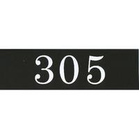 アクリルマットブラックプレート ACMBA-012 2㎜厚 粘着テープ付 30㎜×100㎜ 305