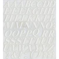 スコッチカルインレタシート 15mmセットパック 書体  タイムズロマンボールドイタリック 大文字 T1809L-001 ホワイト(001裏グレー)