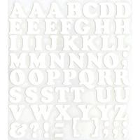スコッチカルインレタシート 15mmセットパック 書体  クーパー 大文字 JC6BL-001 ホワイト(001裏グレー)