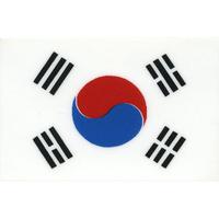 スコッチカル国旗シール 大韓民国 Sサイズ 16mm×24mm