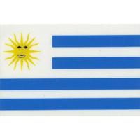 スコッチカル国旗シール ウルグアイ Lサイズ 100mm×150mm