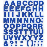 スコッチカルインレタシート 15mmセットパック 書体  ヘルベチカボールド 大文字 H0909L-47 インテンスブルー