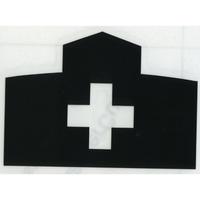 スコッチカルサインシール SC500-003 約90㎜ピクトステッカー 病院