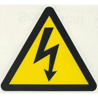スコッチカルサインシール SC500-113 約90㎜ピクトステッカー 感電注意