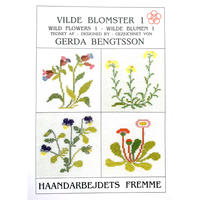 ミニブック 野の花1~4