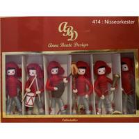 アンヌベアテ人形《Nisseorkester 6人セット》