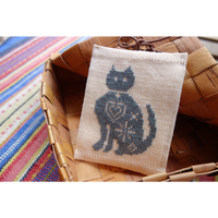 ネコのティッシュケース【刺繍キット】
