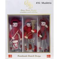 アンヌベアテ人形《Musiktrio 3人セット》