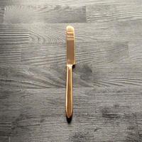 【飯田屋オリジナル】優しく光るピンクゴールドのデザートナイフ