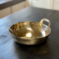【幻の揚鍋:受注生産品】プロ中のプロが愛した幻の逸品!真鍮揚げ鍋36cm
