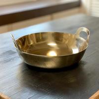 【幻の揚鍋:受注生産品】プロ中のプロが愛した幻の逸品!真鍮揚げ鍋33cm